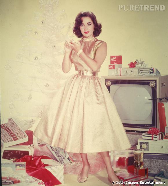 Elizabeth Taylor, babydoll avant-gardiste en 1950.