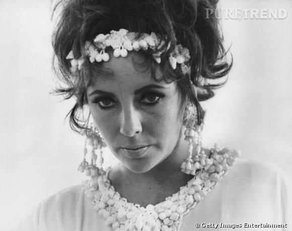 Très sixties, un brin hippie voire fruitée, l'actrice était tout simplement sublime.