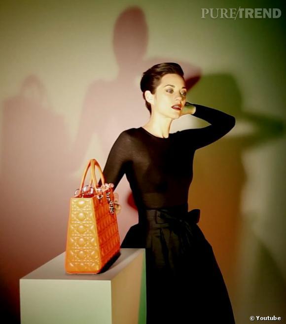 Making of de la dernière campagne Lady Dior avec Marion Cotillard.