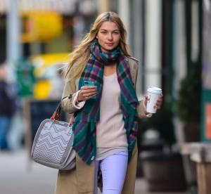 Jessica Hart, mi-saison acidulee...A shopper !