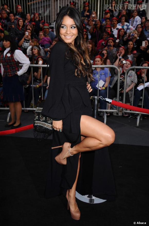 Vanessa Hudgens : le jeu de jambes sexy.