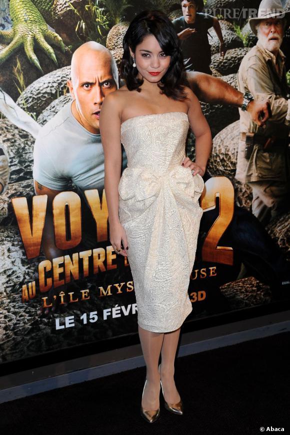 Vanessa Hudgens : le style Lady fatale.