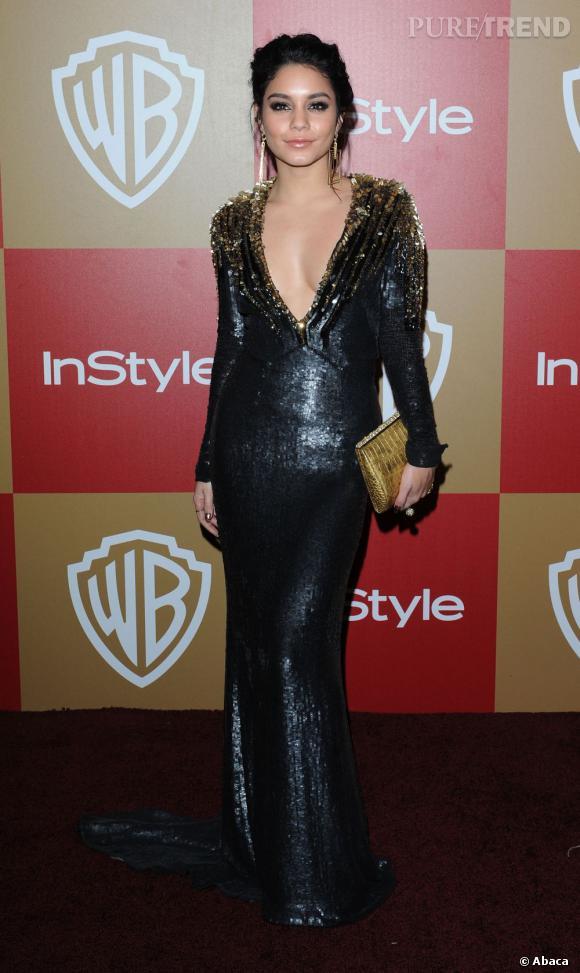 Vanessa Hudgens : le cuir so sexy.