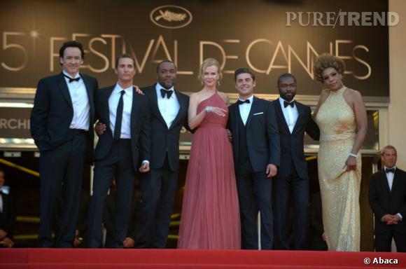 """Nicole Kidman était présente à Cannes en 2012 pour défendre le film """"Paperboy""""."""