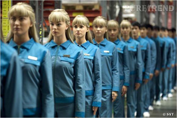 Les humanoïdes servent à tous et sont aussi des ouvriers.