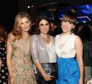 Maggie Grace, Nikki Reed et Sophia Bush à la soirée Coach.