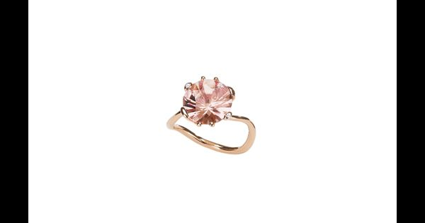 Christian Dior Bague Quot Oui Quot En Or Rose Et Morganite 2 800