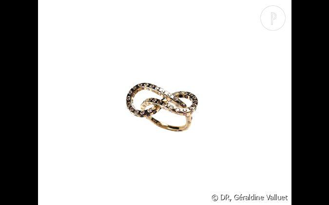 G 233 Raldine Valluet Bague Moebius En Or Jaune Et Diamants 5