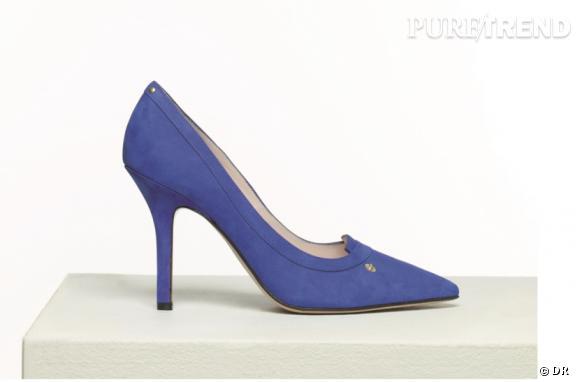 Première collection de chaussures de Jérôme Dreyfuss. L'escarpin Pinpin.