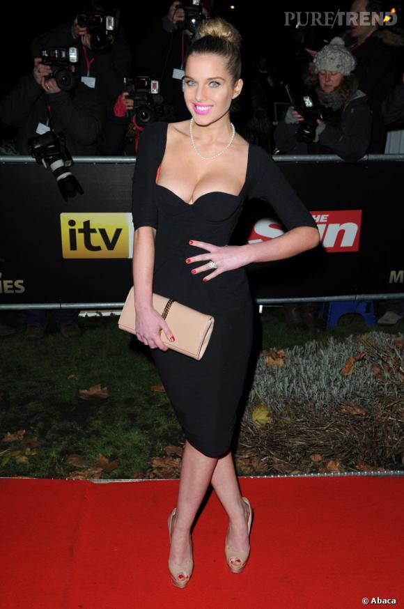 N°3 :  Helen Flanagan, une actrice anglaise. Il y a beaucoup de british dans ce classement !