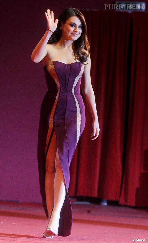 N°1 : Mila Kunis, première du classement des femmes les plus sexy selon FHM grâce à sa silhouette mais aussi grâce à son humour ! À la fois meilleure amie et amante...