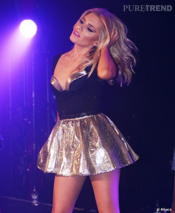 N°18 :  La jolie blonde du groupe The Saturdays, Mollie King.