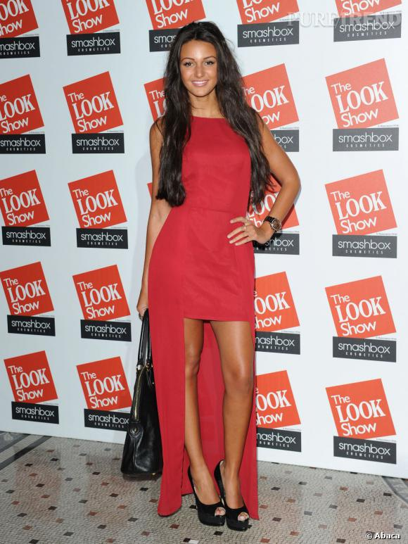 N°4 :  Michelle Keegan, actrice anglaise.