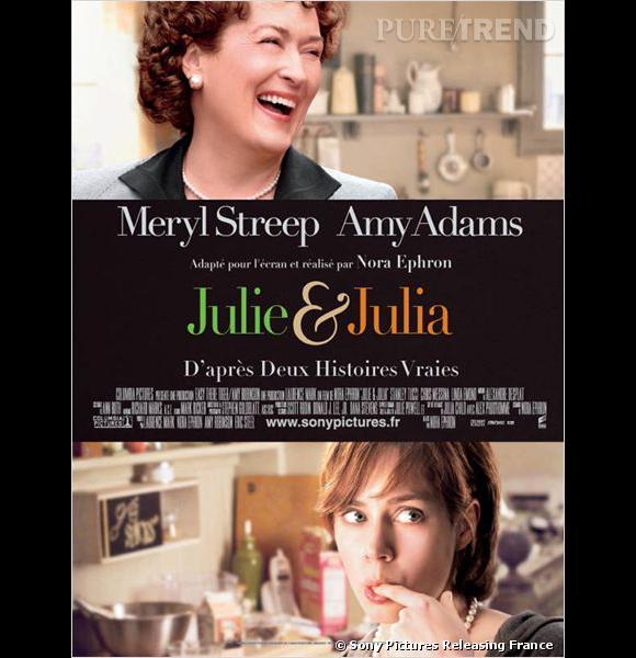 10 films qui donnent faim : Julie et Julia Le récit d'une année de recettes avec les délicieuses Amy Adams et Meryl Streep, en ambassadrice de la cuisine française outre-Atlantique.