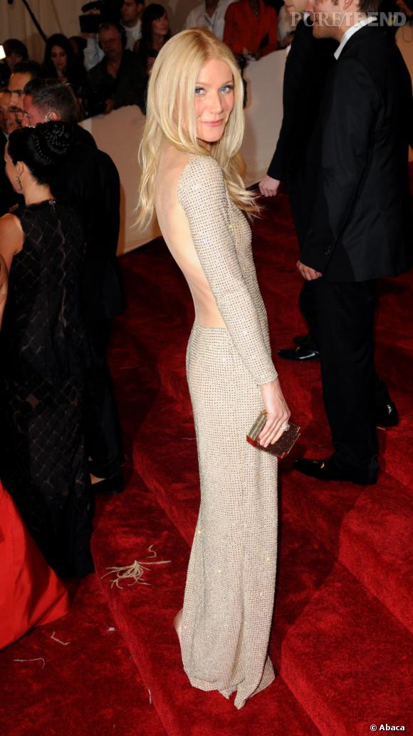 Le Gala du Met Costume Institute en 2011 : Gwyneth Paltrow en Stella McCartney.