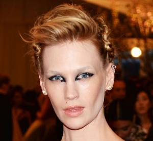 MET BALL 2013 : January Jones, un make-up futuriste, une transformation surprenante