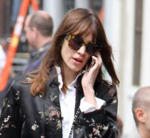 Alexa Chung : working girl stylee en veste kimono...a shopper !