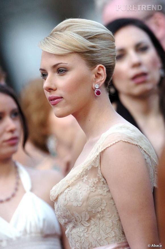 Beauté : Le meilleur du Festival de Cannes Scarlett Johansson en 2005