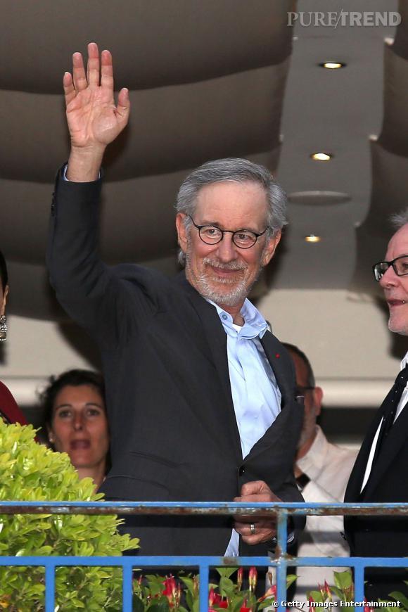 Steven Spielberg fait son arrivée à Cannes pour ce 66ème Festival.