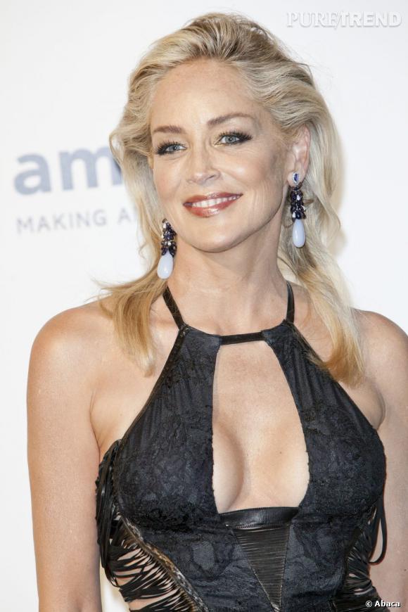 Sharon Stone, présidente de la fondation amfAR.