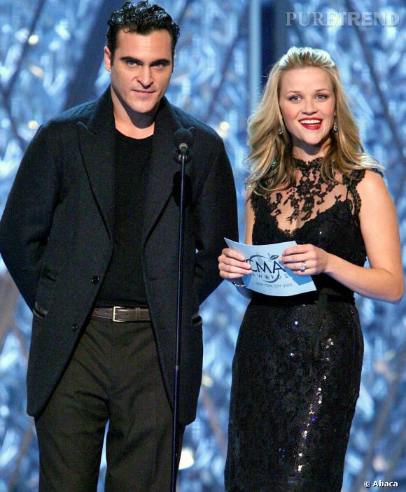 """Reese Witherspoon et Joaquin Phoenix de nouveau réunis sur grand écran ! Après """"Walk The Line"""", ils pourraient jouer dans """"Vice Caché""""."""