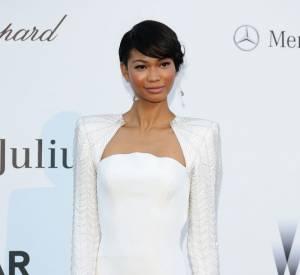 Chanel Iman à l'amfAR 2013.