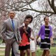 Barack et Michelle Obama cultivent l'image d'une famille unie et accessible.