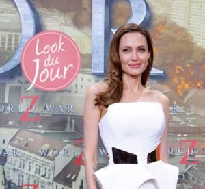 Angelina Jolie : sculpturale et lumineuse pour World War Z a Berlin