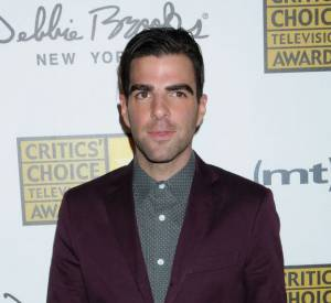 Zachary Quinto aux Critics Choice Awards 2013.