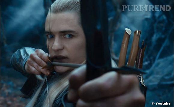 """Le trailer du film """"Le Hobbit : La Désolation de Smaug"""" nous permet aussi d'apercevoir Legolas, qui fait son grand retour !"""