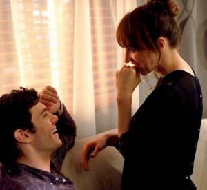 "Adam Brody et Zoe Kazan dans ""Some Girl(s)""."