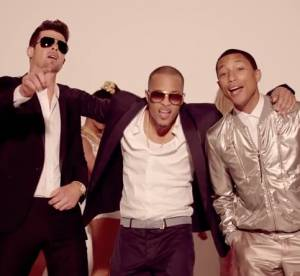 Robin Thicke et Pharrell Williams : le clip ''Blurred Lines'' banni de Youtube