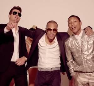 Robin Thicke et Pharrell Williams : le clip ''Blurred Lines'' banni de Youtube