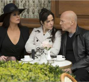 """Red 2"" : Catherine Zeta-Jones au côté de Bruce Willis et Mary-Louise Parker."