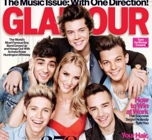 One Direction : dans les coulisses du shooting Glamour avec Rosie Huntington