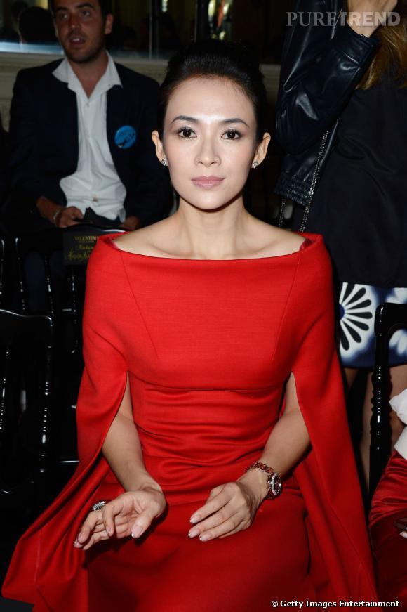 Zhang Ziyi au défilé Haute Couture Automne-Hiver 2013/2014 Valentino.