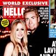 Avril Lavigne et Chad Kroeger dévoilent les photos de leur mariage dans le magazine Hello!Canada.