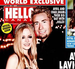 Avril Lavigne : les photos officielles de son mariage en Une de Hello!Canada