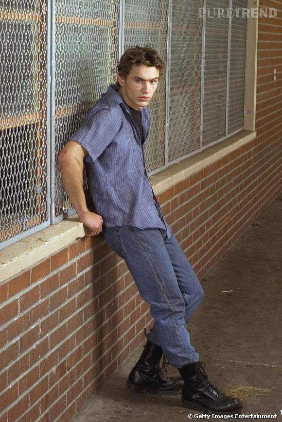 James Franco au début des années 2000 dans son rôle de Daniel Desario dans Freaks and Geek. On est loin du beau gosse Gucci.