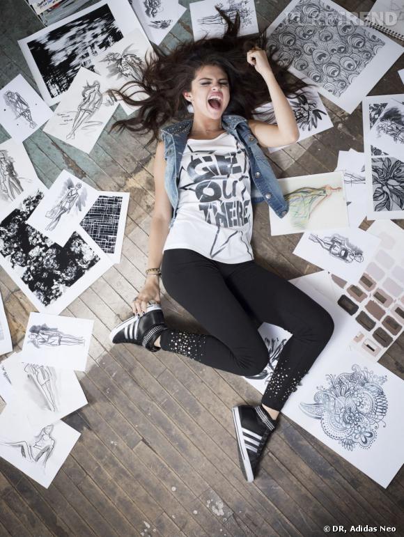 Selena Gomez, explosive pour la campagne Adidas NEO - Puretrend