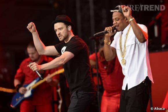 """Justin Timberlake et Jay-Z ont donné le coup d'envoi de leur """"Legends of Summer Tour""""."""