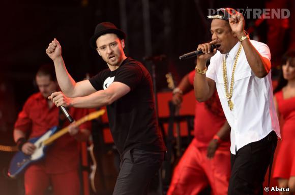 Justin Timberlake et Jay-Z, les nouveaux BFFs de la musique. Adieu Kanye West.
