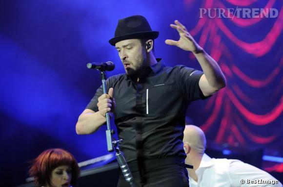 Justin Timberlake s'est également produit le 12 juillet au Wireless Festival.