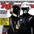 Daft Punk en couverture du magazine Rolling Stone pour le mois de juin 2013.