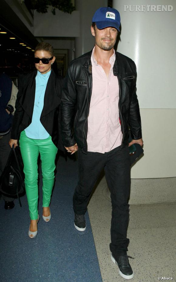 Fergie et Josh Duhamel, très bientôt parents.
