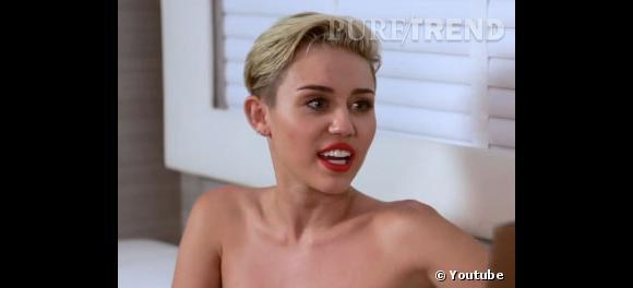 Miley Cyrus a rencontré Laura Brown du Harper's Bazaar pour lui parler de ses cheveux, de ses grillz et de son obsession pour les soeurs Olsen.