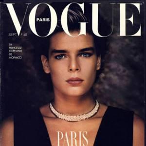 Stéphanie de Monaco pose pour le Vogue français en 1986.