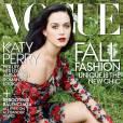 Katy Perry : pas d'alcool pendant trois mois avant de poser pour Vogue.