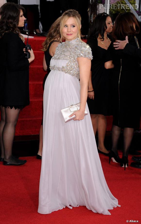 Kristen Bell, une jeune maman plutôt sereine.
