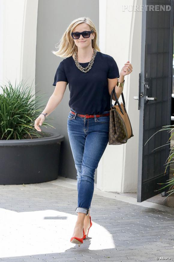 Reese Witherspoon, le style en jean.